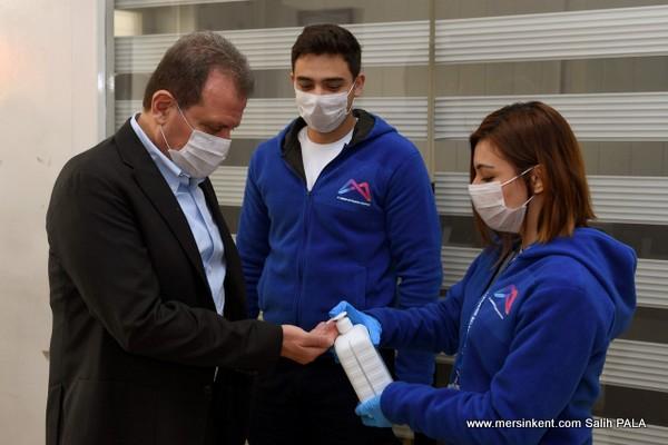 Büyükşehir Belediye Başkanı Seçer, Coronavirüs Tedbirleri  Açıklaması