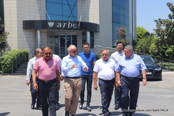 Başkan Gültak Arbel A.Ş.'i  Ziyaret Etti