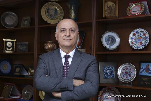 Başkan Kızıltan,Mersin Net İhracatçı Bir Kenttir…