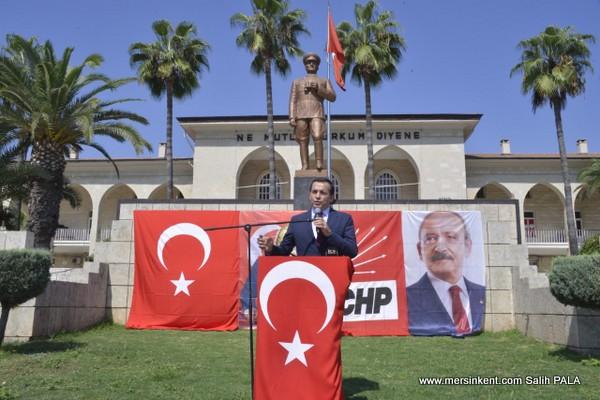 Başkan Özyiğit, Atatürk'ün Yolunda Yürümeye Devam Edeceğiz