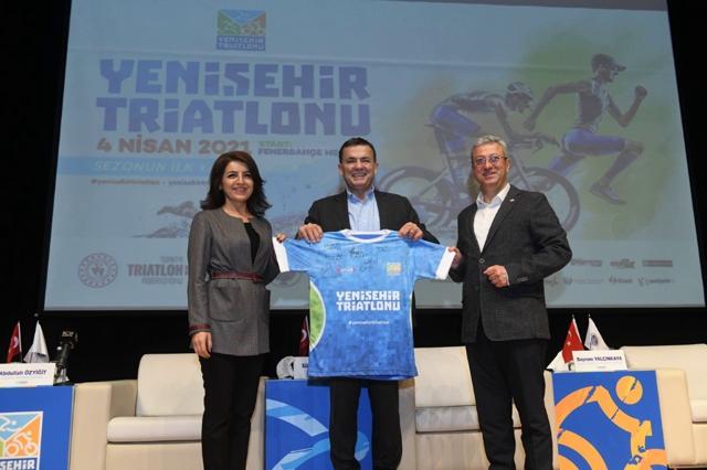 Başkan Özyiğit, Yenişehir Triatlonu Mersin'i Dünyaya Tanıtacak Mersin'e Katkı Sağlayacak