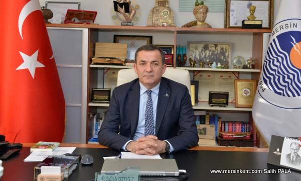 BAŞKAN ÖZYİĞİT'TEN 'EVDE KAL' ÇAĞRISI