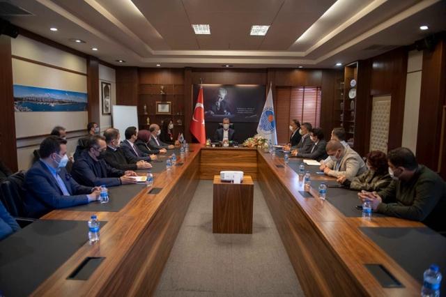 Başkan Seçer, TMMOB Mersin İl Koordinasyon Kurulu İle Buluştu