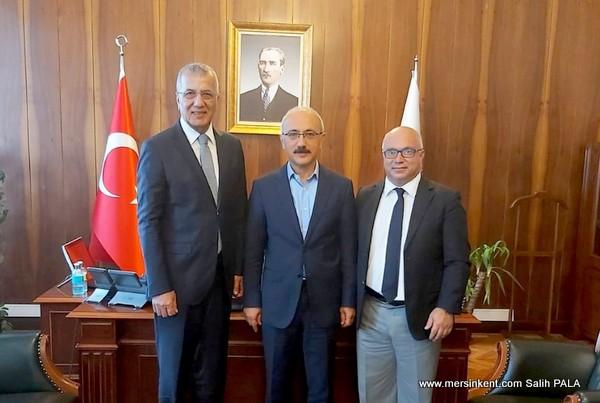 Başkan Tahan Ankara'dan Destek  Sözü  Aldı