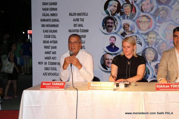 Başkan Tarhan, Burhaniye'de Mezitli'de Yaşanan Dönüşümü Anlattı