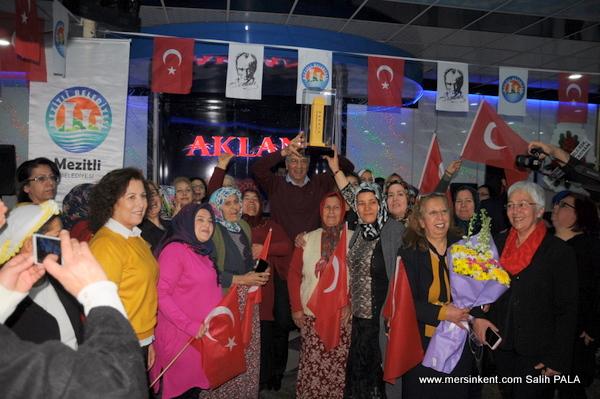 Başkan Tarhan'a Üretici Kadınlardan Büyük Destek