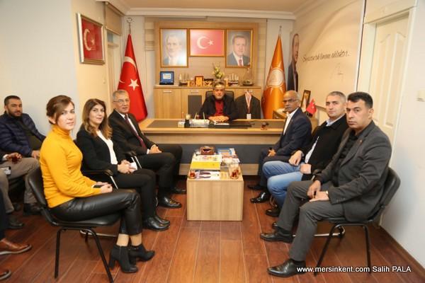 Başkan Tarhan'dan AK Parti ve HDP'ye Ziyaret