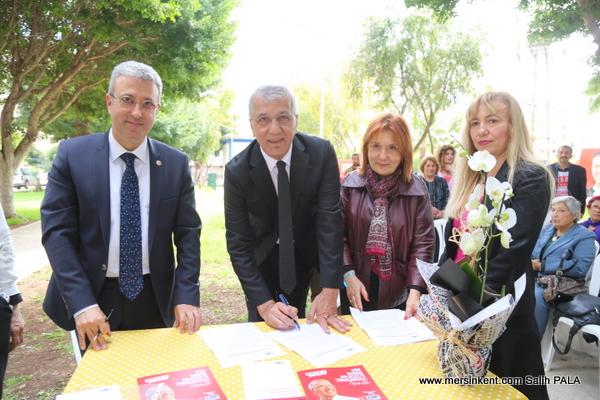 Başkan Tarhan,Doğa Dostu Belediye Başkanı Taahhütnamesi İmzaladı