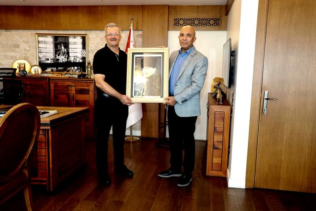 Başkan Tekli'den, Şahne'ye Hayırlı Olsun Ziyareti