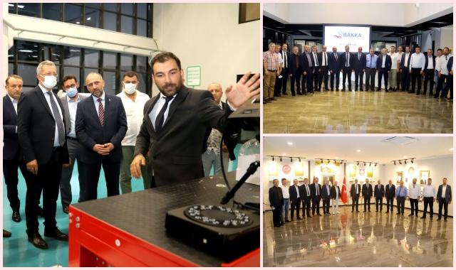 Batı Karadenizli İşadamlarından Model Fabrika ve Yenilik Merkezi'ne Ziyaret
