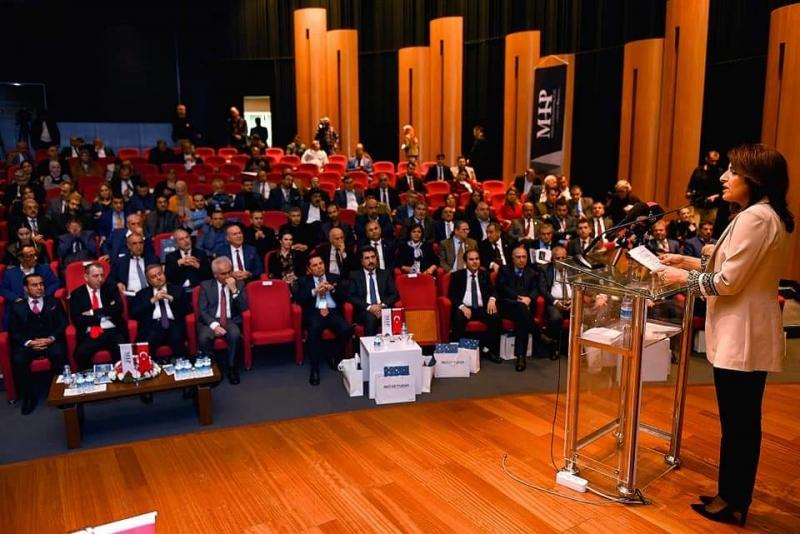 Büyükşehir Başkan Vekili Kış,3. Türkiye-lrak Yatırım ve Ticaret Zirvesi'ne Katıldı
