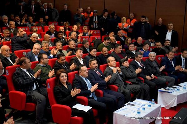 BÜYÜKŞEHİR BELEDİYE MECLİSİ, YILIN İLK TOPLANTISINI,MUT'TA YAPTI
