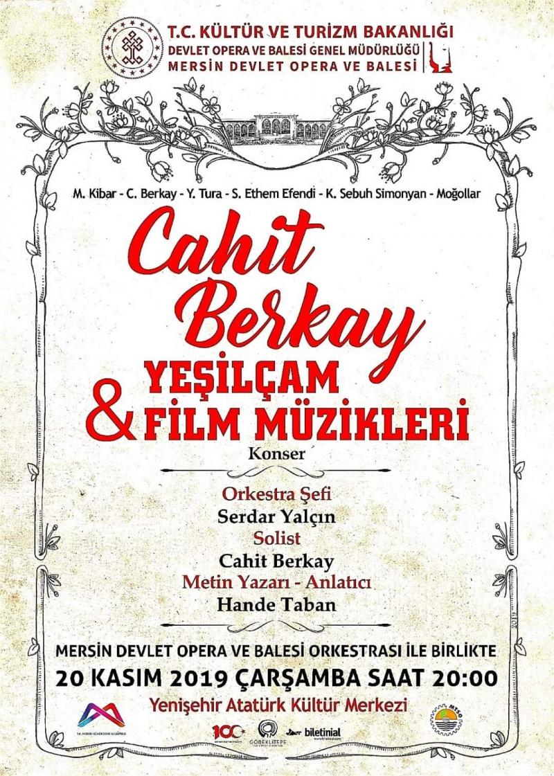 Cahit Berkay & Yeşilçam Filmleri Konseri