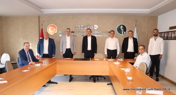 CHP İL YÖNETİMİ MESİAD'I ZİYARET ETTİ