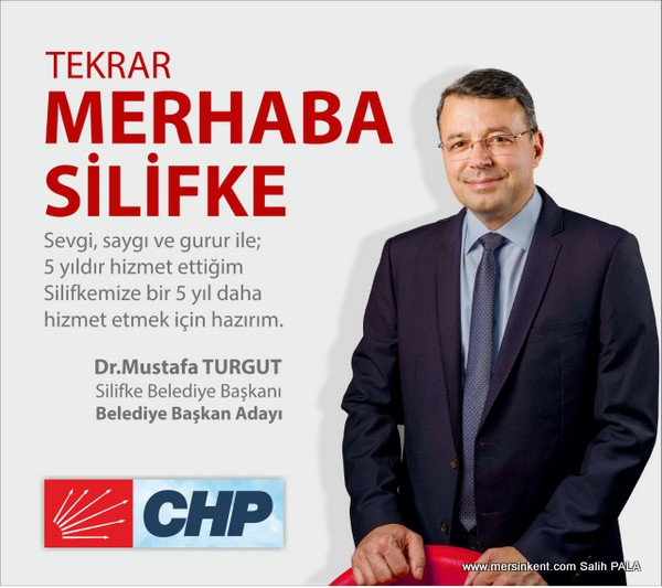 CHP'nin Silifke Adayı Dr. Mustafa Turgut Oldu