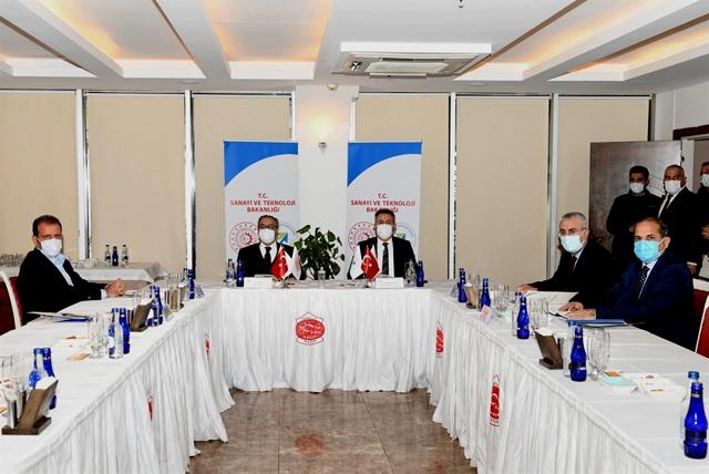 ÇKA Yönetim Kurulu Mersin'de Toplandı