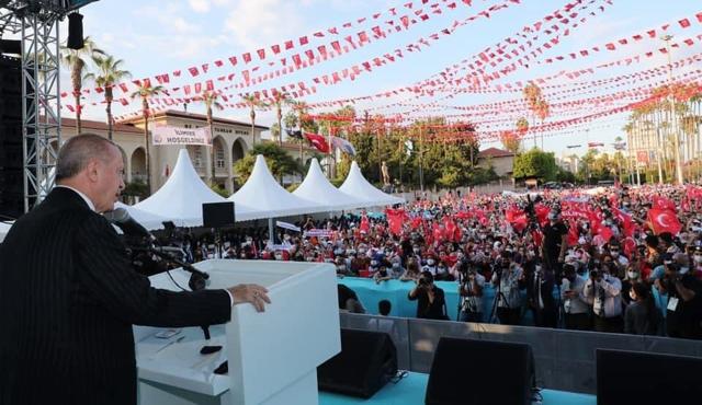Cumhurbaşkanı Erdoğan, Mersin'de Toplu Açılışlar Gerçekleştirdi