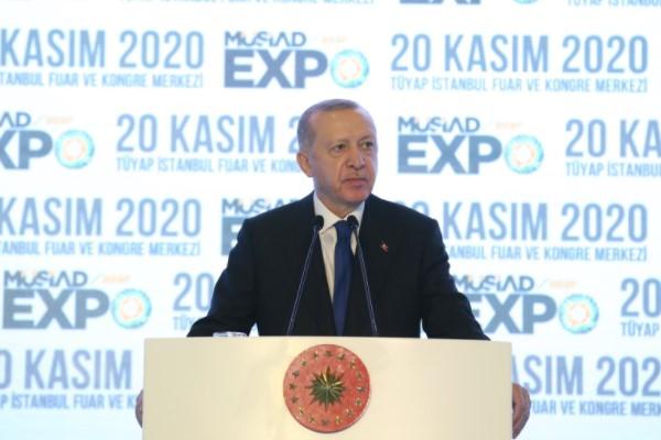 Cumhurbaşkanı Erdoğan, 18. MÜSİAD EXPO Fuarına Katıldı