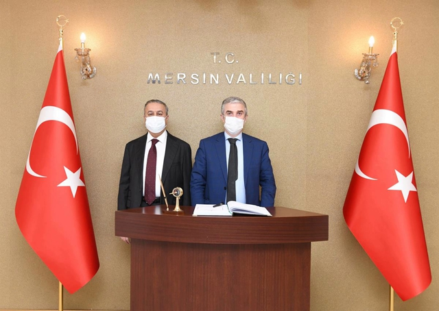 Danimarka Ankara Büyükelçisi Danyy Annan, Vali Su'yu Ziyaret Etti
