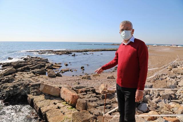 Deniz Çekildi Soli Pompeiopolis Antik Limanı Ortaya Çıktı