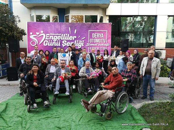 Derya Grup,Engelliler Günü Şenliği Düzenledi