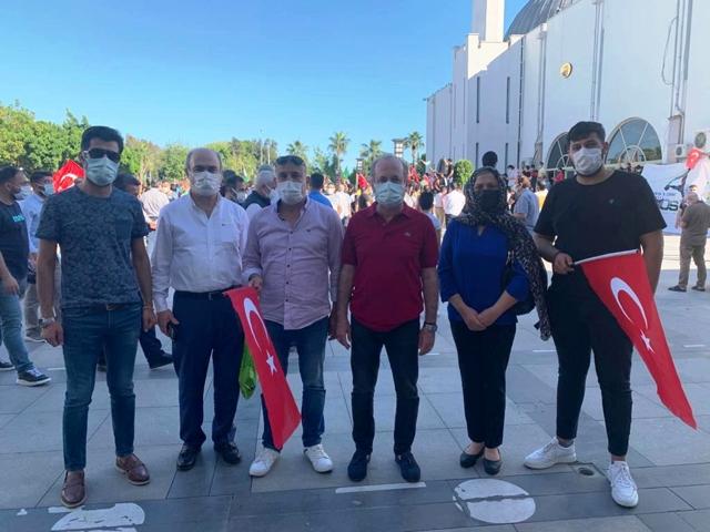 DEVA Partisi İsrail'e Tepki Gösterdi