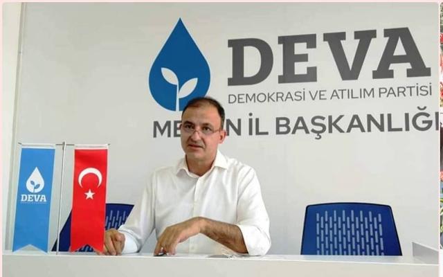 DEVA Partisi Mersin İl Başkanı Cenk Cenkcimenoğlu, Kurban Bayramını Kutladı