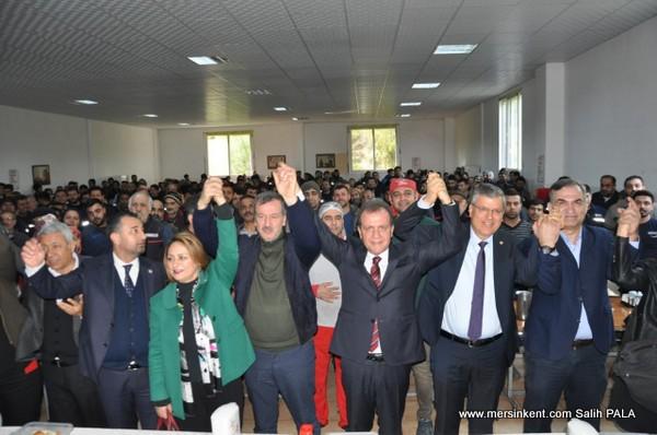 Dört Adana Milletvekilinden Seçer'e Destek