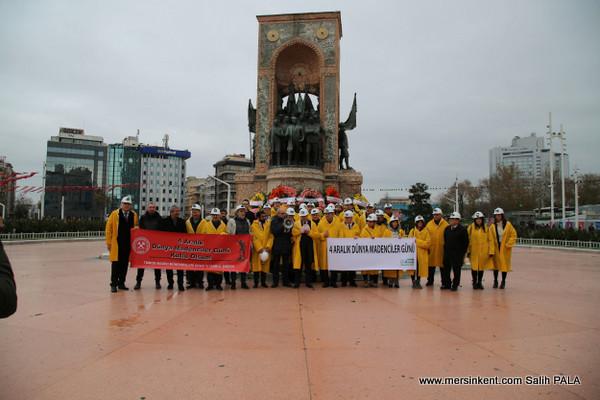 Dünya Madenciler Günü ve Bayramı'nı Kutlandı