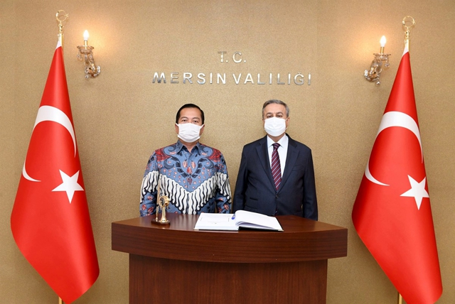Endonezya Ankara Büyükelçisi Iqbal Vali Su'yu Ziyaret Etti