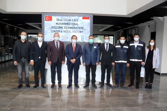 Endonezya Büyükelçisi MTOSB 'nde İncelemelerde Bulundu