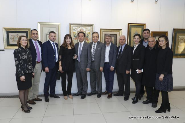 Esra Bora'nın Tezhip Sergisi  MTSO Sanat Galerisi'nde Açıldı