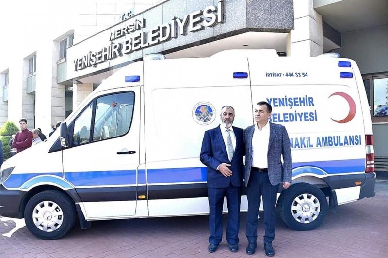 Hayırsever Arıkan, Yenişehir'e Ambulans Bağışladı