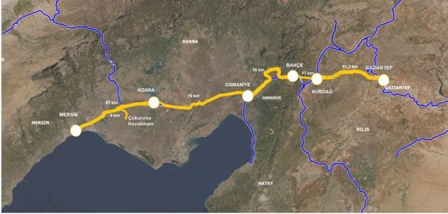 Hızlı Tren Güneydoğu Anadolu'yu Kapsamalı