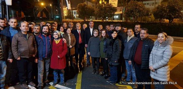 İYİ Parti'den Ankara Mitingine  Destek