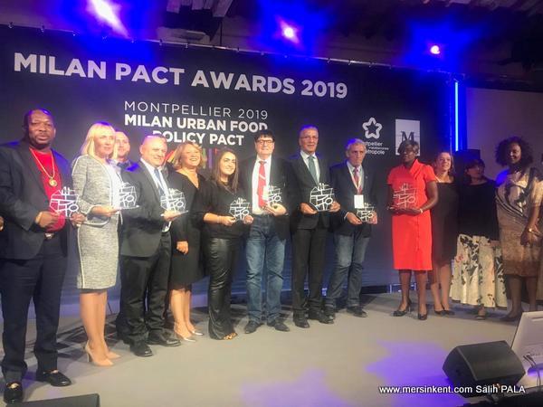 Kadın Üretici Pazarı  Milan Paktı  Ödülünü Kazandı
