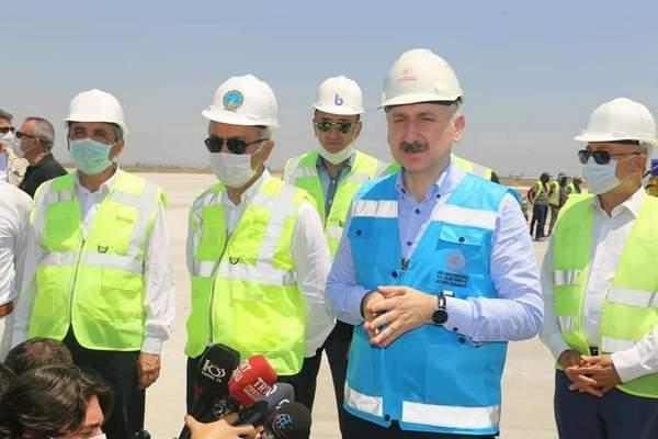 Karaismailoğlu,İki Yıl İçinde Çukurova Bölgesel Havaalanı Tamamlanacak