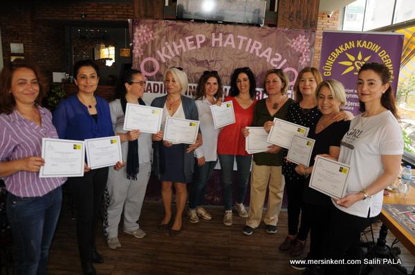 KİHEP Eğitim Programına Katılan Kadınlar Sertifikalarını Aldı