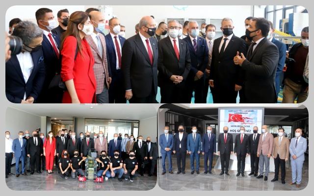 KKTC Cumhurbaşkanı Ersin Tatar, MTOSB'ni Ziyaret Etti