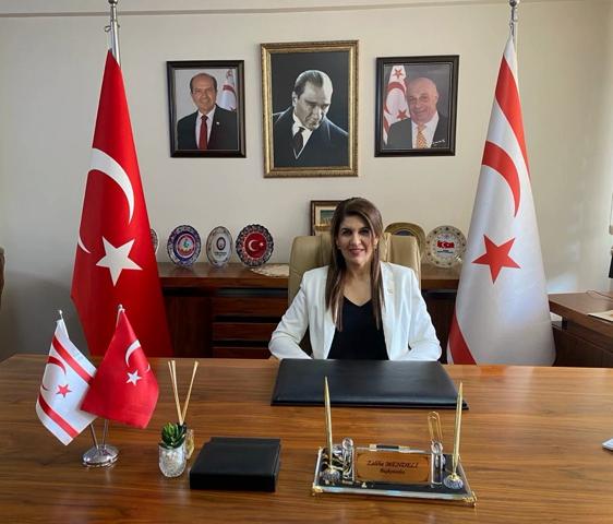 KKTC Mersin Başkonsolosu Zalihe Mendeli, 20 Temmuz Barış ve Özgürlük Bayramı'nın 47. Yıldönümünü Kutladı