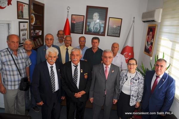 KKTC Mersin Başkonsolosu İnanıroğlu'nun  TEMAD Ziyareti