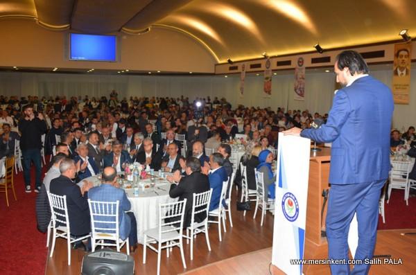 Memur-Sen Genel Başkanı Ali Yalçın,Mersin'de