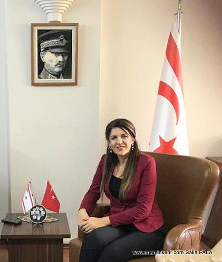 Mersin Başkonsolosu Mendeli,KKTC'nin Kuruluşunun 36. Yılını Kutladı