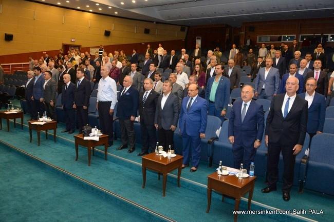 Mersin Büyükşehir Belediye Meclisi'nde İl ve İlçelerin  2019 Mali Yılı Bütçeleri