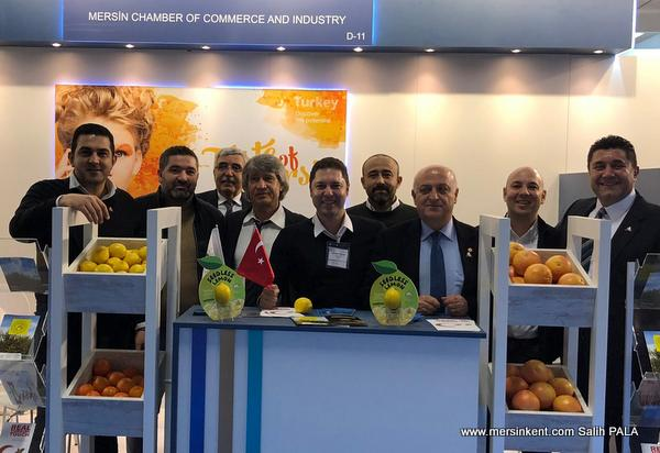 Mersin Heyeti, Fruit Logistica Fuarı'nda