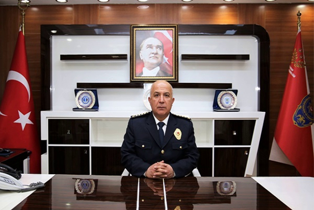 Mersin İl Emniyet Müdürlüğü'ne Atanan Mehmet Aslan Göreve Başladı