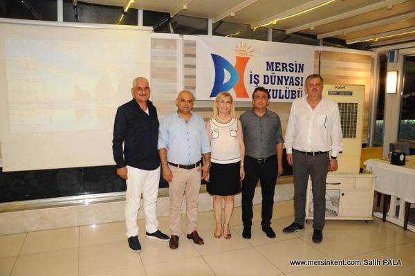 Mersin İş Dünyası Kulübü,İŞKUR ve SGK'nin Teşvik ve Destekleri Gündemiyle Toplandı