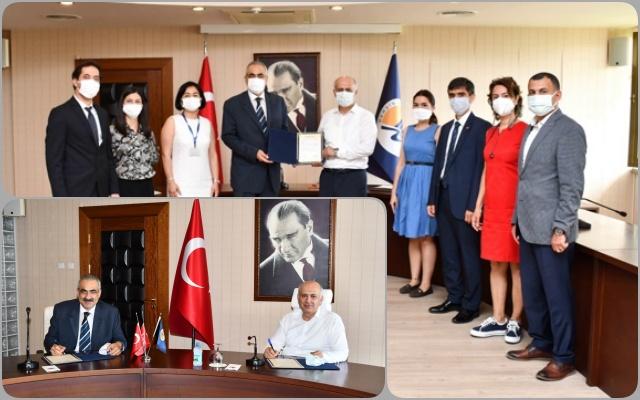 Mersin Üniversitesi ile Koluman Otomotiv  İş Birliği Protokolü İmzalandı