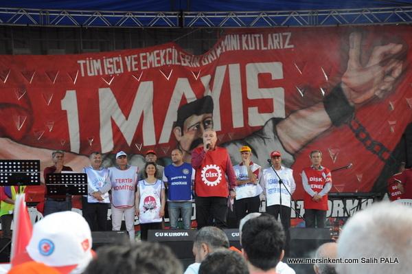 Mersin'de 1 Mayıs Coşkusu Yaşandı