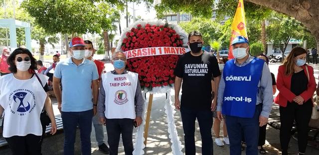 Mersin'de 1 Mayıs Sessizce Kutlandı